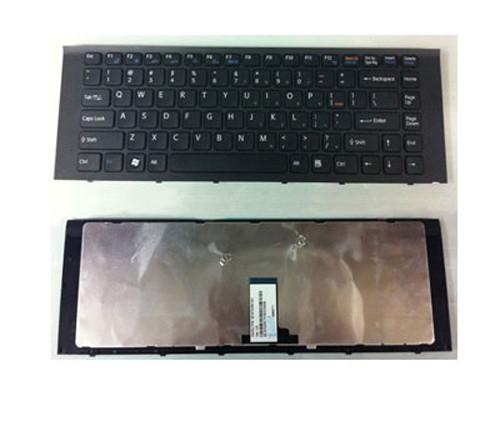 Клавиатура для ноутбуков Sony Vaio VPC-EG Series черная UA/RU/US
