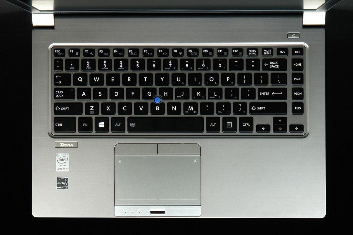 Клавиатура для ноутбуков Toshiba Tecra Z40 Series черная с черной рамкой, с трекпоинтом, с подсветкой UA/RU/US