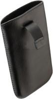 Кожаный чехол-карман для Fly IQ4403 черный