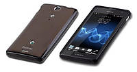 Комплект накладка пленка Yoobao 2 in 1 для Sony Xperia Sola MT27i, black