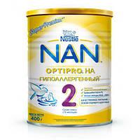 Смесь молочная NAN гипоаллергенный 2 Nestle 400 г