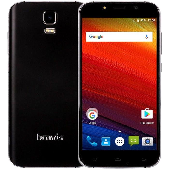 Смартфон Bravis A553 1/8Gb Black Камера 8/2 МП