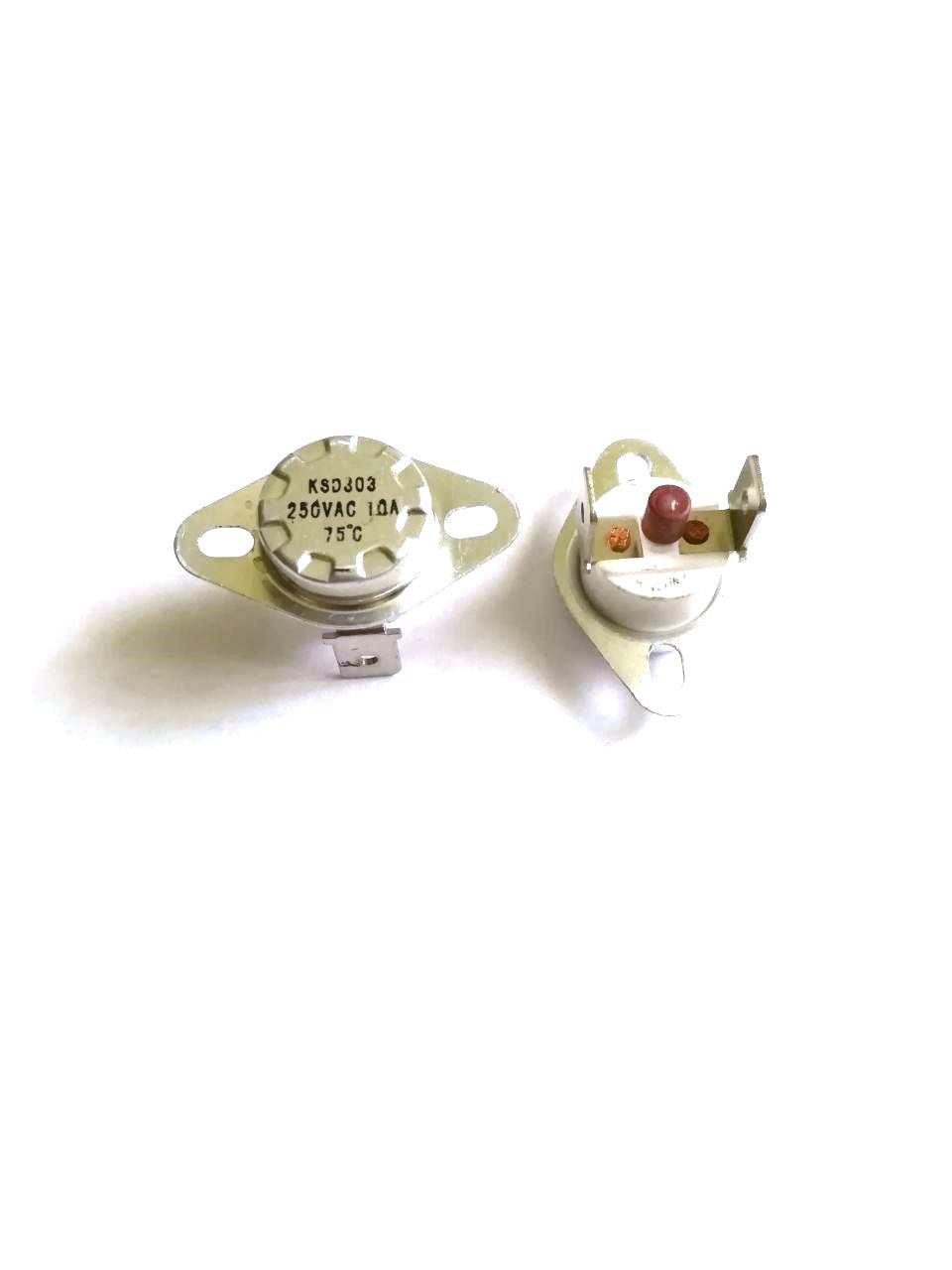 Термоотсекатель KSD303 аварийный / 250V / 10A / на 75°