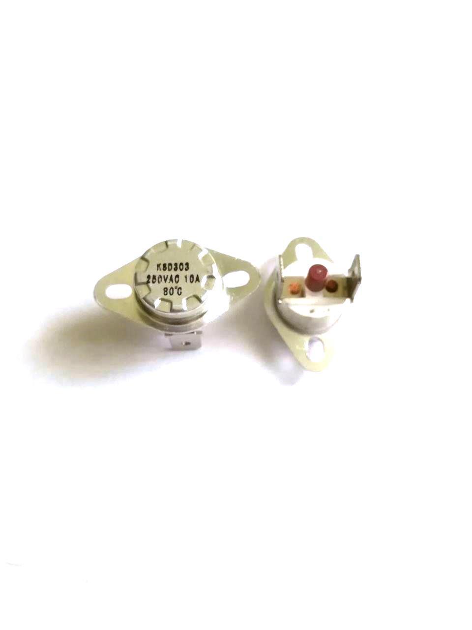 Термоотсекатель KSD303 аварийный / 250V / 10A / на 80°