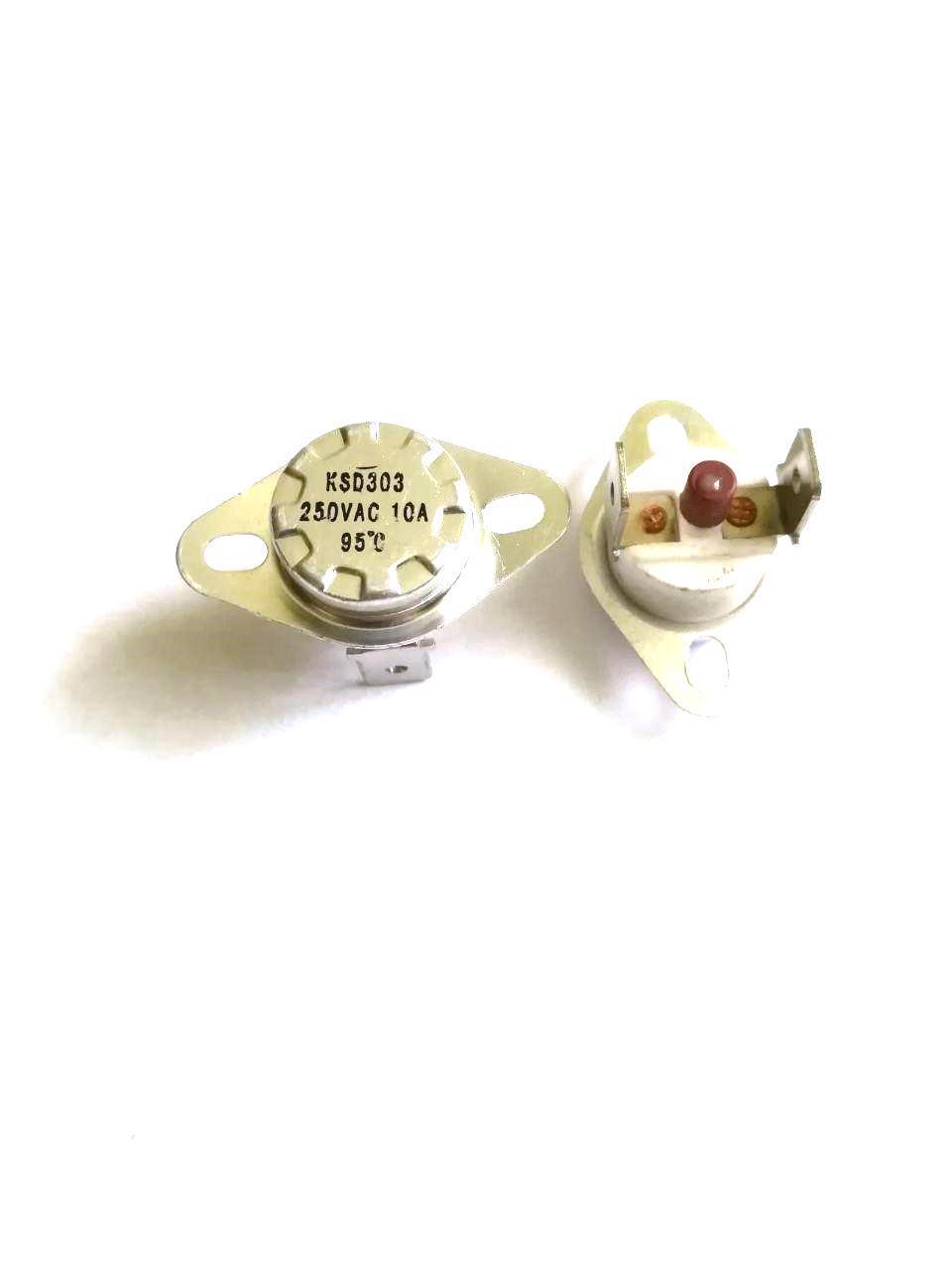 Термоотсекатель KSD303 аварийный / 250V / 10A / на 95°