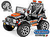 Детский Электромобиль Peg Perego Gaucho Rock'in 12V, мощность 480W, черно-оранжевый, фото 5