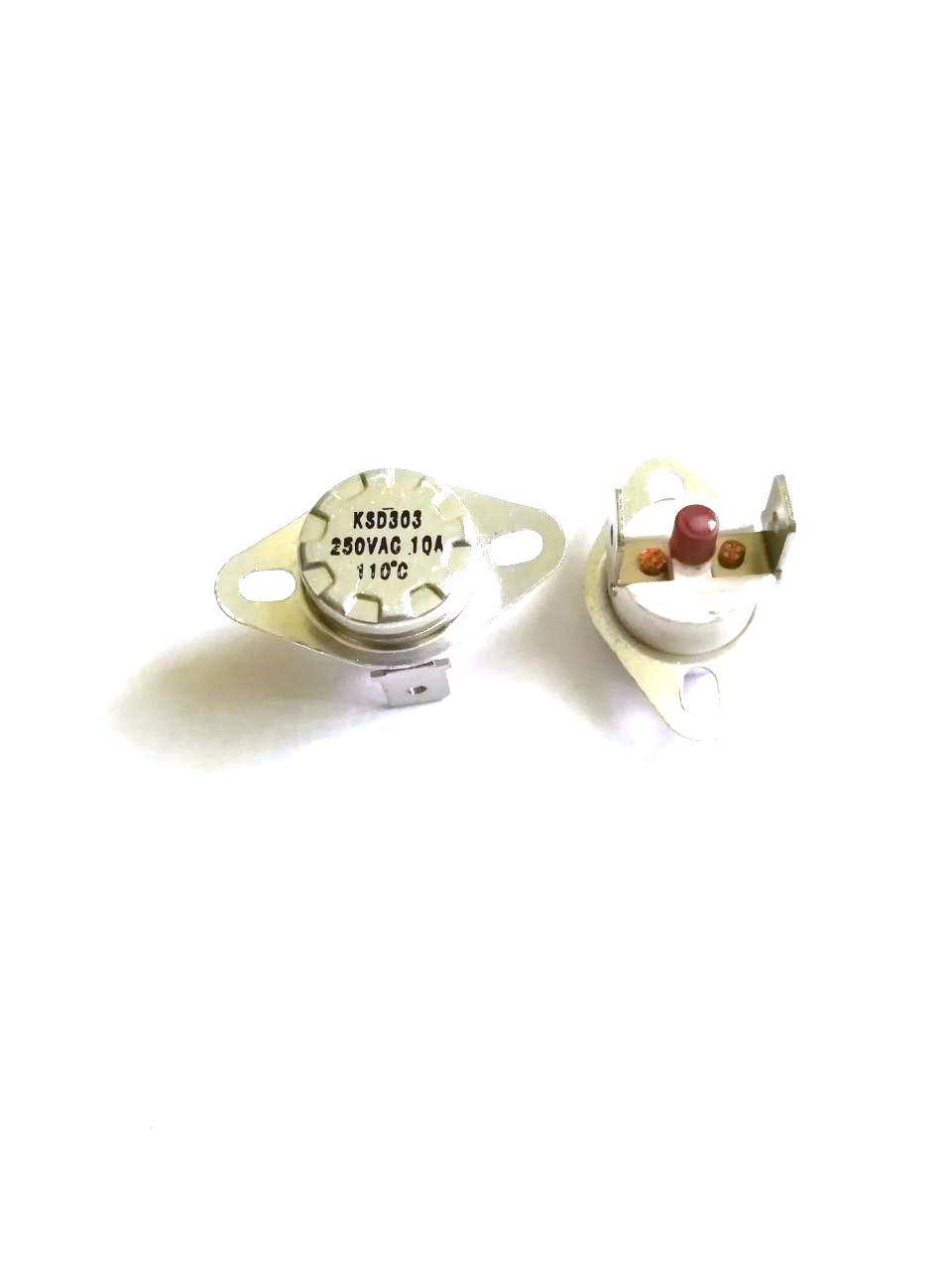 Термоотсекатель KSD303 аварийный / 250V / 10A / на 110°