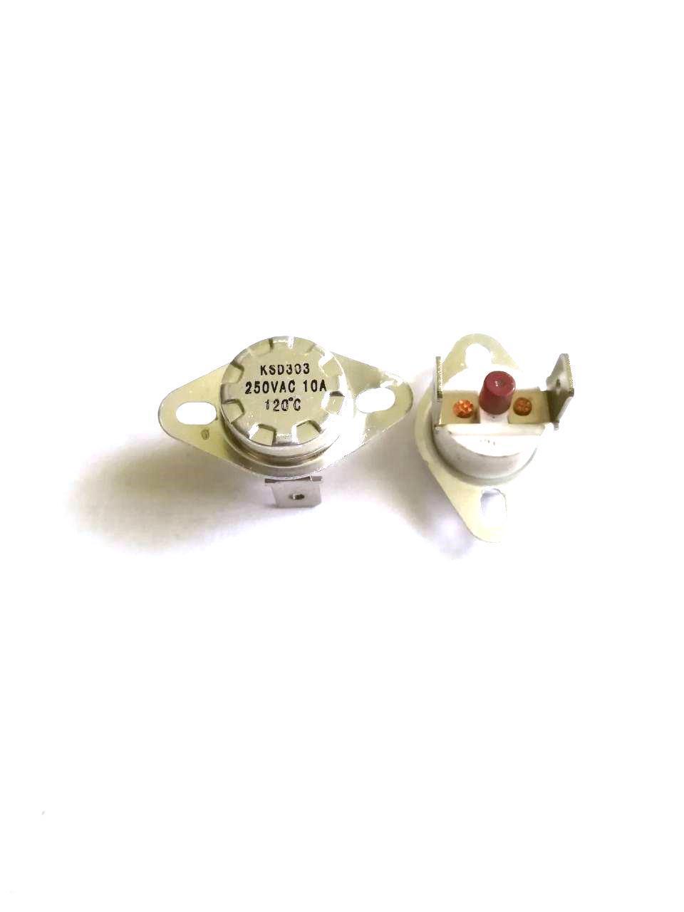 Термоотсекатель KSD303 аварийный / 250V / 10A / на 120°