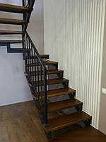 "Металлическая лестница в стиле Хай-Тек ""Hi-Tec"", фото 1"