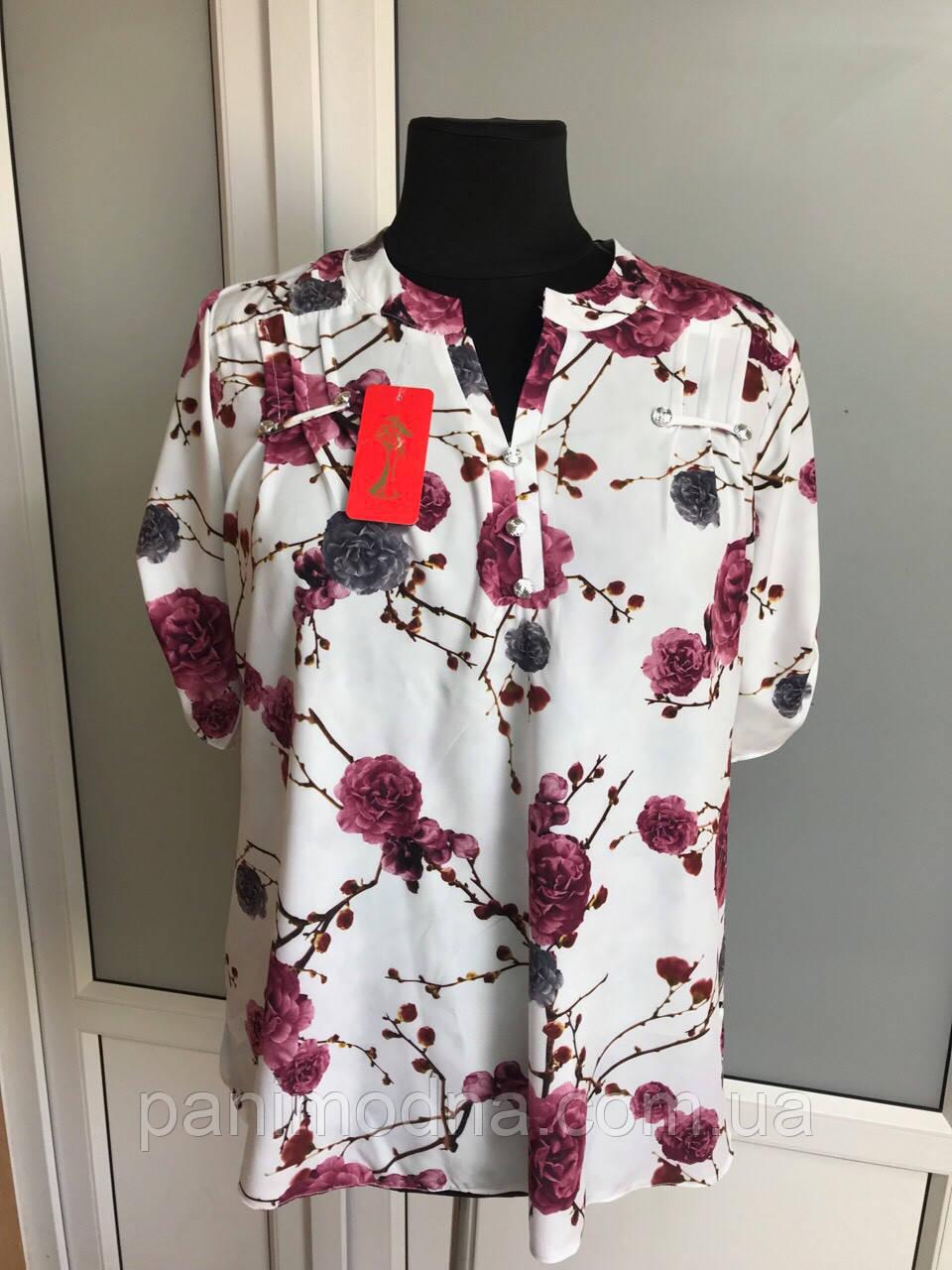 """Блуза женская """"Виктория"""". От производителя - швейная фабрика."""