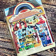 """Объемные многоразовые наклейки """"Дом для животных"""", Melissa&Doug, фото 1"""