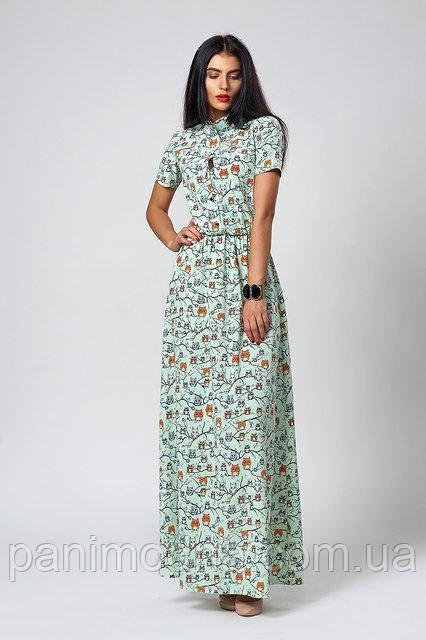 569f484f85a933 Летнее платье с модным узором. Лето 2018: от производителя в ...