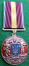 """Медаль """"ЗА ГІДНІСТЬ ТА ПАТРІОТИЗМ"""" з документом"""