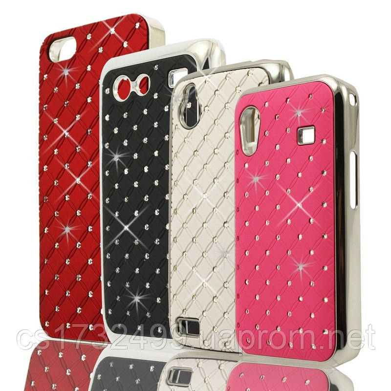 Накладка со стразами Diamond HTC ONE Mini 2 Pink