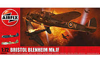 1:72 Сборная модель самолета Bristol Blenheim Mk.IF, Airfix 04059