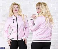 Ветровка T-6980 (48, 50) — купить Верхняя одежда XL+ оптом и в розницу в одессе 7км