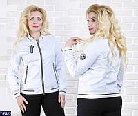 Ветровка T-6982 (48, 50) — купить Верхняя одежда XL+ оптом и в розницу в одессе 7км