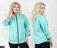 Ветровка T-6997 (46, 48, 50, 52, 54, 56) — купить Верхняя одежда XL+ оптом и в розницу в одессе 7км