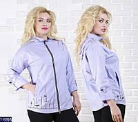 Ветровка T-6998 (46, 48, 50, 52, 54, 56) — купить Верхняя одежда XL+ оптом и в розницу в одессе 7км