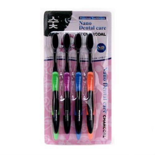 Упаковка угольных зубных щеток Nano Dental Care
