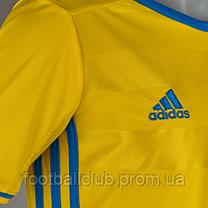 Футболка adidas Sweden 15/16 Kids Home AA0447, фото 3