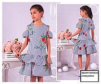 Модные детские платья и сарафаны летние для девочек