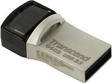 USB флеш накопитель Transcend 64GB JetFlash 890S USB 3.1