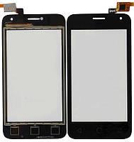 Сенсор Alcatel 4024D Pixi First black .t