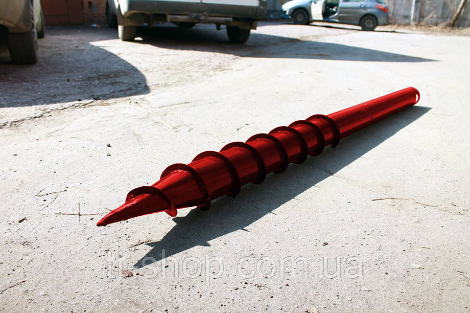 Свая многовитковая Ø 108 мм длинна 4.0 м