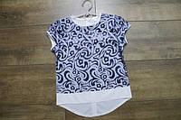 Нарядная блузка для девочек. 122- 134 рост.