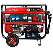 Генератор Бензиновый KRAFTDELE OHV 8,8 кВт 3 фазы