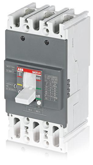 Автоматический выключатель ABB Formula A1B 125 TMF 60-600 3p F F, 1SDA066703R1