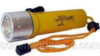Подводный фонарь для охоты или дайвинга на аккумуляторе police PF 03-3000W Lum, желтый
