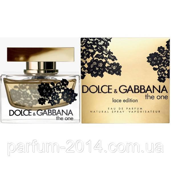 Женская туалетная вода Dolce & Gabbana The One Lace Edition  (реплика)