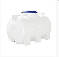 Пластиковая емкость 200 л Euro Plast RGО 200 горизонтальная, однослойная, Ø350 мм