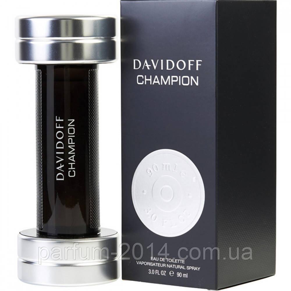 Мужская туалетная вода Davidoff Champion  (реплика)