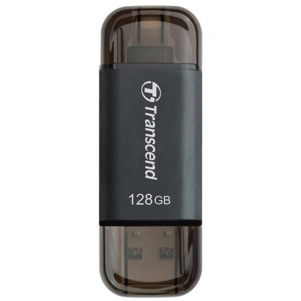 USB флеш накопитель Transcend 64GB JetDrive Go 300 Black USB 3.1