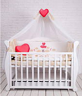 Детский постельный комплект Dckids TEDDY BEAR  БК-015, бежевый