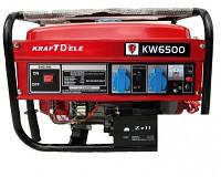 Генератор бензиновый 1 фазный KraftWele Germany 4,8 кВт AVR ручной запуск