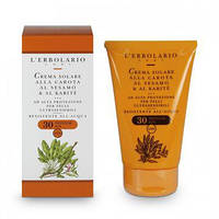 Солнцезащитный крем с Морковью, маслом Кунжута и маслом ши SPF 30 125мл