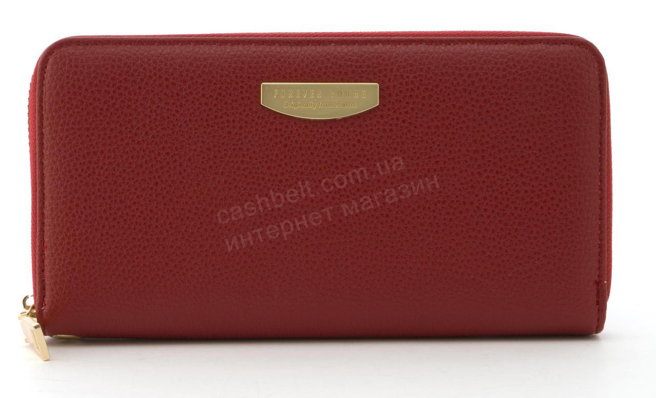 Стильный прочный удобный женский кошелек барсетка высокого качества TAILIAN art. T9624-012 красный