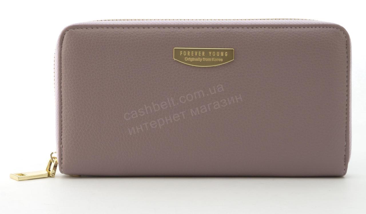 Стильный прочный удобный женский кошелек барсетка высокого качества TAILIAN art. T9624-012 сиреневый