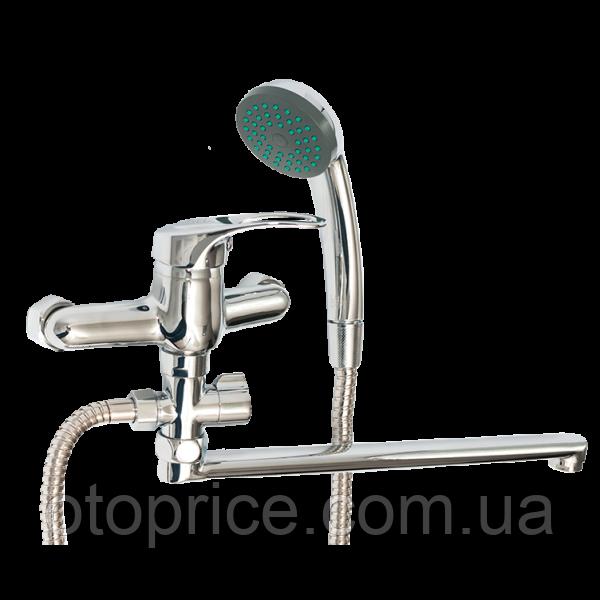 Смеситель для ванны с длинным изливом 163700502 Lidz