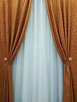 """Классические шторы с красивым узором  """"Зарина"""", фото 1"""