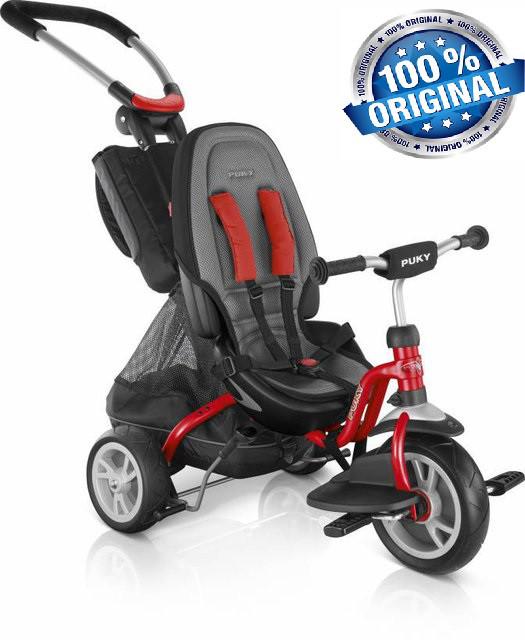 Триколісний велосипед Puky CAT S6 Ceety (червоний)