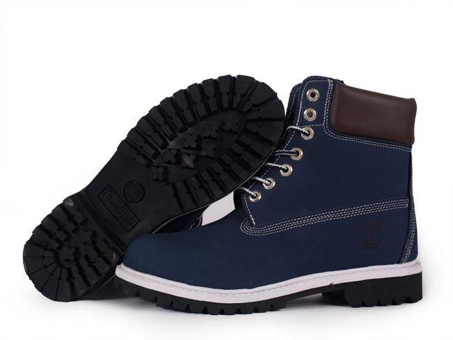Ботинки Timberland синие реплика ( Турция ) - Интернет магазин обуви  «im-РоLLi» 1764d85a11f