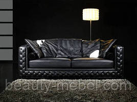 Диван дизайнерский Версаль, черный