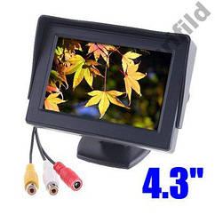"""Монитор автомобильный авто для камеры заднего вида TFT LCD экран 4,3"""" Дисплей LCD 4.3'"""