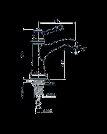 Смеситель для раковины Imprese Podzima  , фото 2