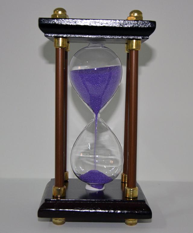 Песочные часы, дерево (19х10х10 см.), фото 1